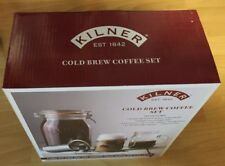 Kilner Cold Brew Coffee Set Complete With Jars Filters Etc. Nice Gift Item.