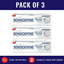 3x SENSODYNE Repair and Protect Whitening Toothpaste