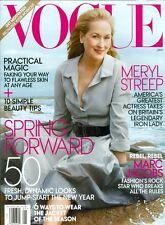 Vogue 2012 Meryl Streep Amber Valletta Shalom Harlow Caroline Trentini Tennant