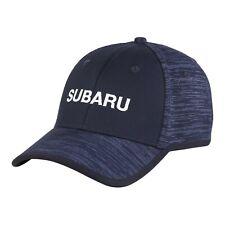 Genuine Subaru Logo Space Dye Fitted Cap Hat STI Ascent Forester Outback WRX STI