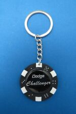 CHALLENGER LOGO POKER CHIP DICE KEYRING KEY RING CHAIN #195