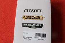 Games Workshop Warhammer Orc Shaman on Foot and Mounted New Metal GW Orruks OOP