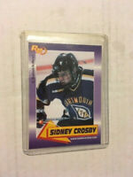 RARE SIDNEY CROSBY PRE-ROOKIE CARD - 2003 ROOKIE REVIEW - PITTSBURGH PENGUINS