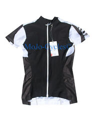 Assos Women's SS.13  Short Sleeve Jersey White/Black Size Large New