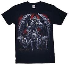 Pitbull Pit Bull Skull Reaper Harley Chopper Icon Represent T-Shirt 2Xl 3Xl