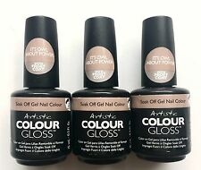 3 X Artistic Colour Gloss Soak Off Gel Nail Color Its Owl About Power 0.5oz