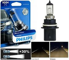 Philips VIsion 30% 9004 HB1 65/45W One Bulb Headlight Dual Beam High Low Replace