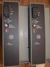(2) Allen Bradley 120/220V AC Power Supply INPUT 300VA  1771-P7