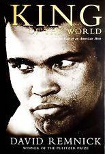 "Collectable Muhammad Ali ""King of The World"" David Remnick 1st Edition Hardback"