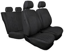CAR SEAT COVERS full set fit Peugeot 407 - grey (MC2)