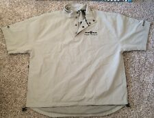 PING COLLECTION CANVAS PULLOVER WINDBREAKER P823..LARGE NWT