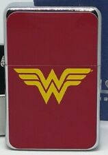 WONDER WOMAN SUPERHERO FLIP METAL PETROL LIGHTER
