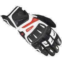Guante de moto Spyke RR-41 protectores de nudillos guantes de cuero moto