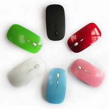 Mini Wireless Mouse 2.4GHz Optical Scroll For Computer PC Laptop With USB Dongle