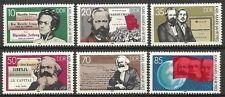 Germany (East) 1983 MNH - Death Centenary Karl Marx (Engels Das Kapital Banner)