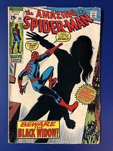 Amazing Spider-Man #86. 1st Black Widow In New Costume.