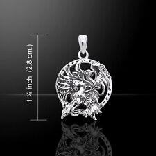 Jody Bergsma Phoenix .925 Sterling Silver Pendant by Peter Stone