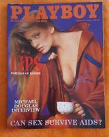 PLAYBOY MENS MAGAZINE FEBRUARY 1986 JULIE MCCULLOUGH MICHAEL DOUGLASS INTERVIEW