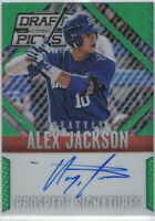 2014 PANINI PRIZM DRAFT PICKS ALEX JACKSON AUTO RC ROOKIE SIGNED 35/35