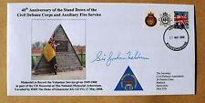 Corpo di difesa civile/ausiliario VIGILI DEL FUOCO 2008 Copertina firmato SIR Graham meldrum