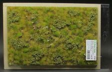 Model Scene F723 - Premium Grass Mat (late summer few stones) diorama scenery