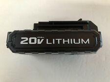 Porter Cable PCC681L 20 Volt Max Lithium-Ion 1.3 Amp Hour Battery