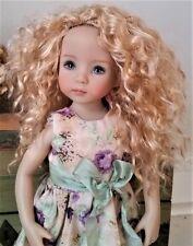 Monique Ellowyne-Rose Wig 7 1/4 for Effner Little Darlings Kish Volks Blonde