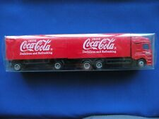 Coca-Cola Semi truck w/double trailiers Drink Coca-Cola delicious & refreshing