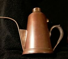 Rare Vintage Oil Can, Copper w/ Brass Lid, Manning & Bowman #2, Patent 1899.