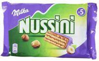 3 x MILKA NUSSINI SCHOKOLADE HAZELNUT - 15 PIECES ! GERMAN CHOCOLATE BAR CANDY