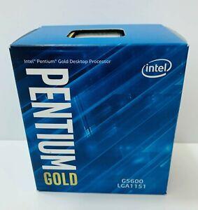 Intel Pentium Gold G5600 GOLD 3.9 GHz Processor