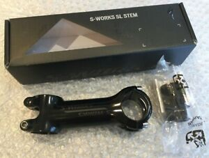 Specialized S-Works SL Stem with expander plug 31.8MM X 100MM 6 Degrees RRP £105