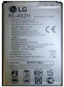 New OEM Original LG K8 K371 PHOENIX 2 K373 ESCAPE 3 K8V VS500 BL-46ZH Battery