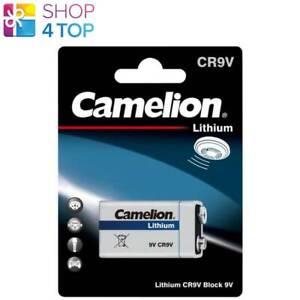 CAMELION 9V LITHIUM BATTERY CR9V 1200mAh 6LR61 6LR21 MN1604 1BL EXP 2031 NEW