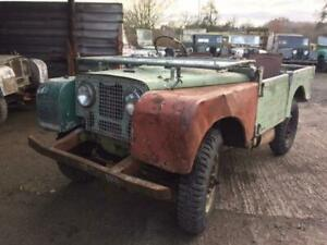1950 Land Rover Series 1 80 inch for Restoration - Running and Driving
