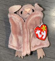 Original Ty Beanie Baby BATTY The Bat Style 4035 W/Tag