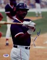 Jim Rice 1989 Psa/dna Signed 1/1 Original Image 8x10 Photo Authentic Autograph