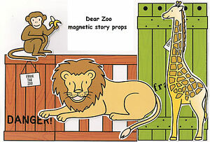 DEAR ZOO MAGNETIC STORY PROPS – Teacher Resource