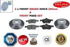 FOR NISSAN PRIMERA P11 WP11 2.0 SR20DE GT SRI FRONT BRAKE DISCS AND PADS SET