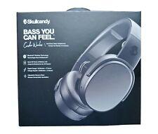 Skullcandy S6CRW-K591 Wireless Over-Ear Headphone - Black Bass Brand New