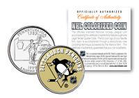 PITTSBURGH PENGUINS NHL Hockey Pennsylvania Statehood Quarter US Coin *LICENSED*