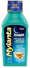 Mylanta Tonight Liquid Antacid, Honey Chamomile Flavor, 12 Fl. Oz.