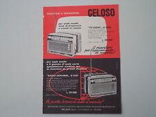 advertising Pubblicità 1963 GELOSO TV-SONIC G 3330/RADIO EXPLORER G 3331