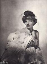 """Horst - Londres  - mode  - Photogravure in  """" AMG 1937 """""""