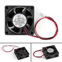 4xDC Brushless Ventilateur de Refroidissement 12V 6020s 60x60x20mm 0.15A 2 Pin N