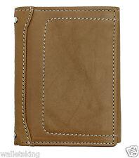 STARHIDE para Hombre de Cuero Real Cartera Triple I. D, soporte tarjeta de crédito Bolso - 810