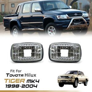 SIGNAL TURN LIGHT INDICATOR CRYSTAL LENS FOR TOYOTA HILUX TIGER MK4 1998-2004