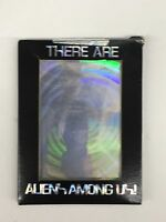 "HOLOGRAPHIC CARDS Sci- Fi ""THERE ARE ALIENS AMONG US"" 1991 NIB Sealed 8  p/box"