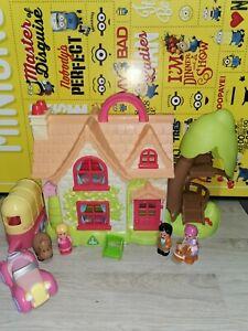 ELC Happyland Cherry Lane Cottage House Playset  Figures