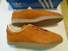 New In Box Adidas Originals Gazelle Men's Brown Suede Leather  Shoes BD7490